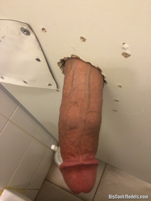 fat cock thru gloryhole